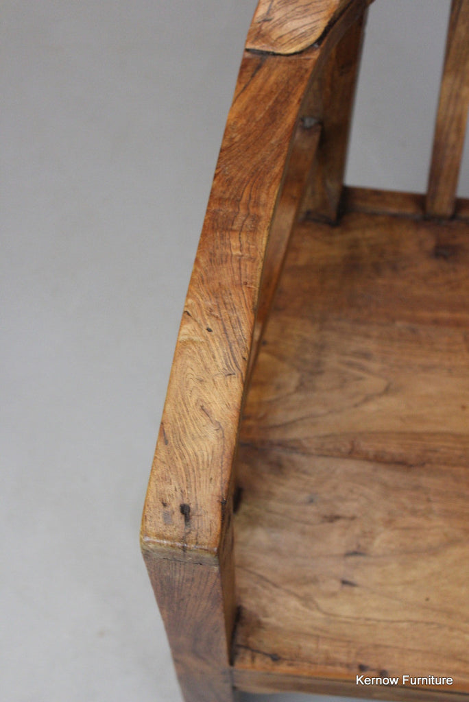 Rustic Cherry Chair - Kernow Furniture