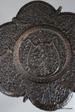 antique carved indian side table