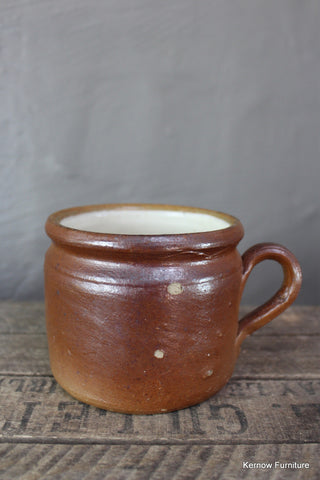 French Stoneware Large Mug