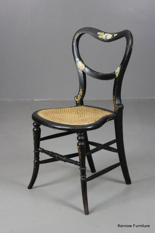 antique ebonised chair