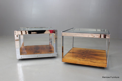 Pair Merrow Associates Coffee Tables