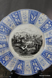 French Transferware Plate