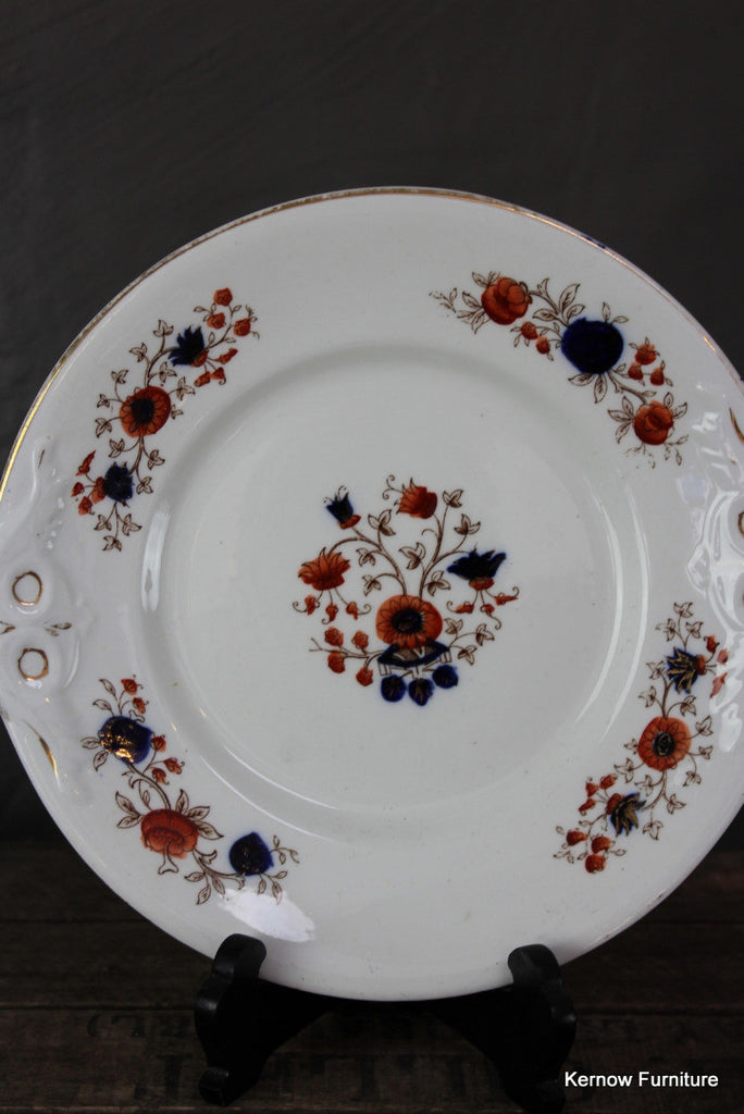 Victorian Floral Plate - Kernow Furniture