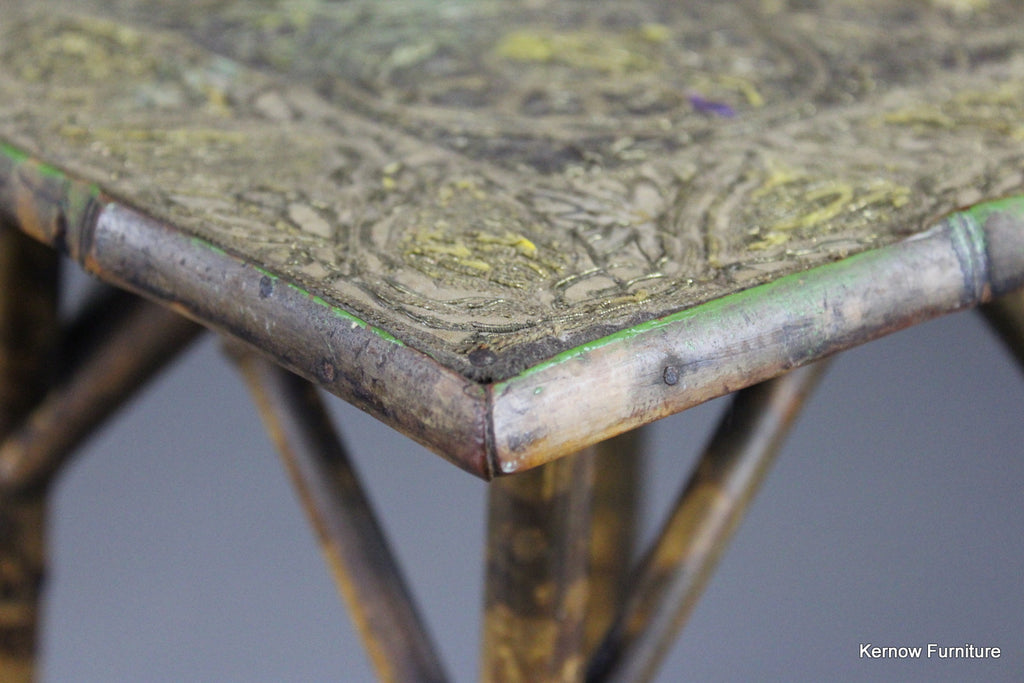 Victorian Bamboo Table - Kernow Furniture