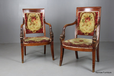 Pair French Chairs