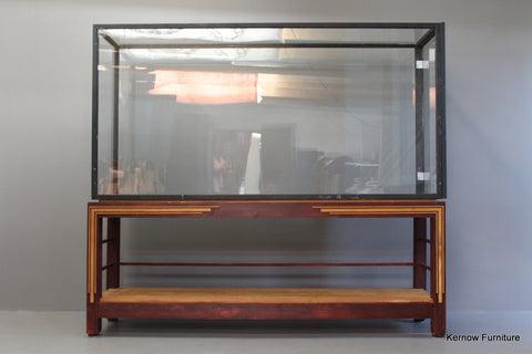 Huge Glazed Display Cabinet