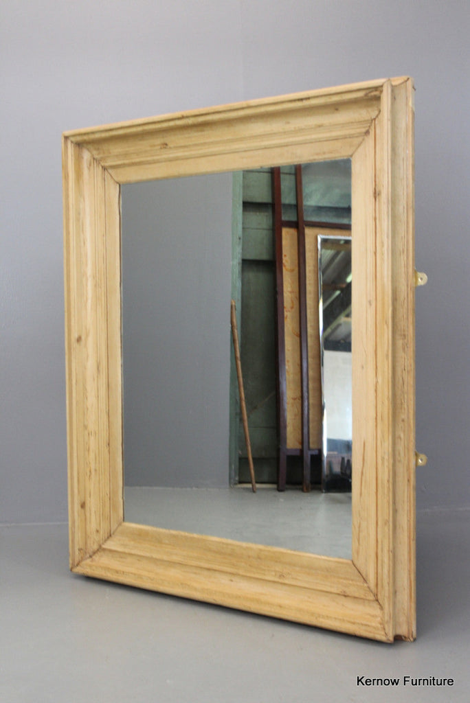 Large square pine mirror for Big square mirror