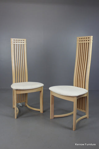 Pair Danish Marmohuset Dining Chairs