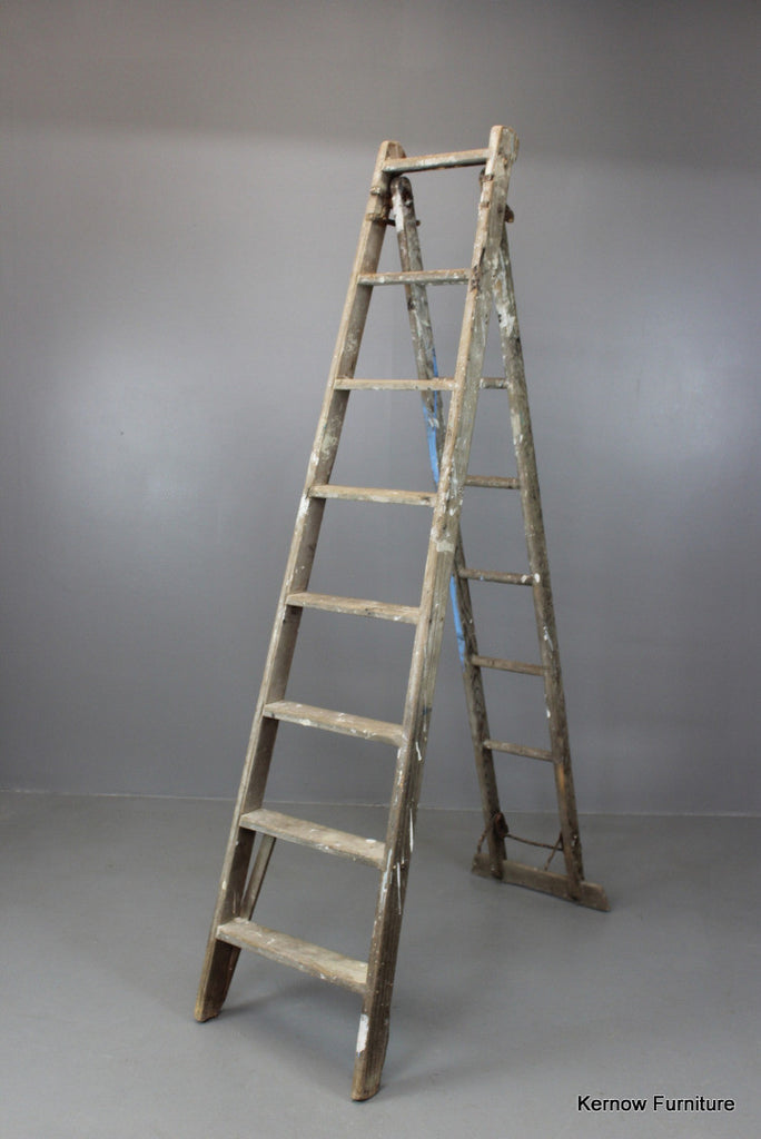 Large Wooden Ladder