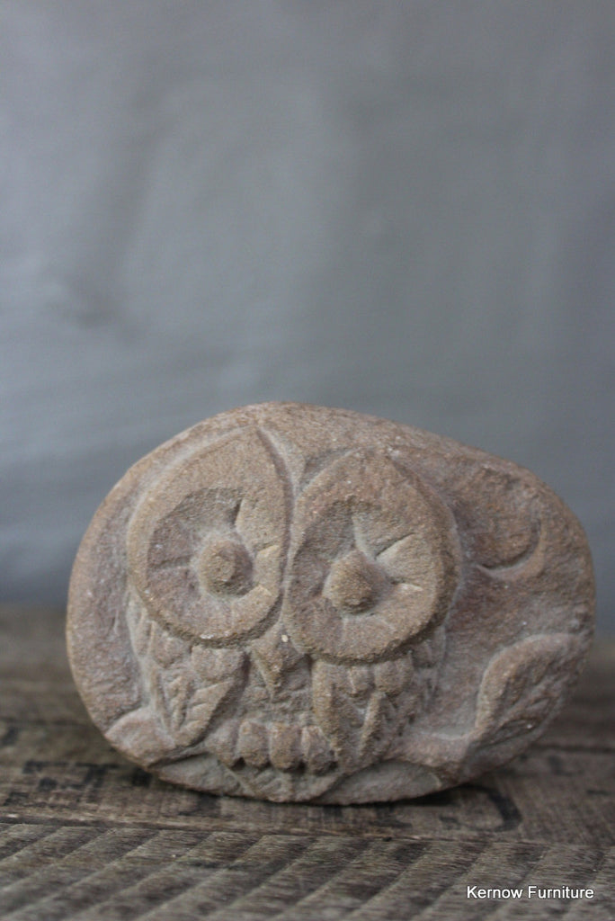 Carved Owl Paper Weight