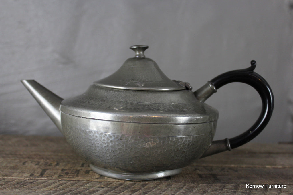 Lion Pewter Tea Pot