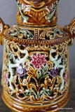 German Majolica Vase