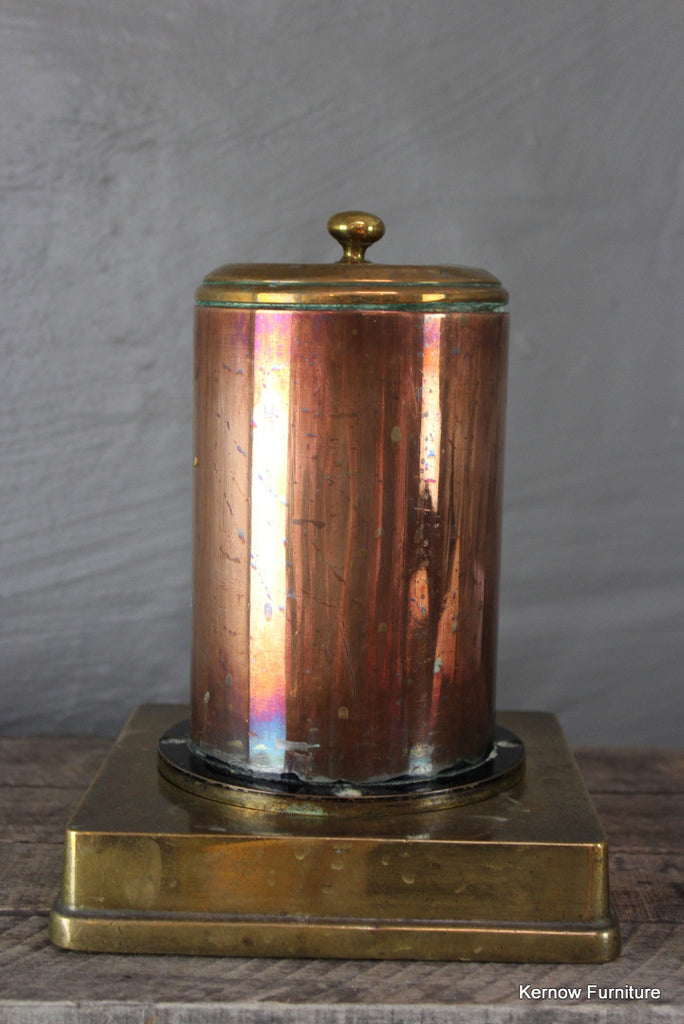 Trench Art Copper Canister
