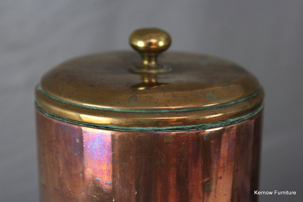 Trench Art Copper Canister - Kernow Furniture