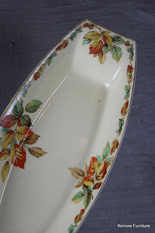 A J WIlkinson Honeyglaze Dish - vintage retro and antique furniture