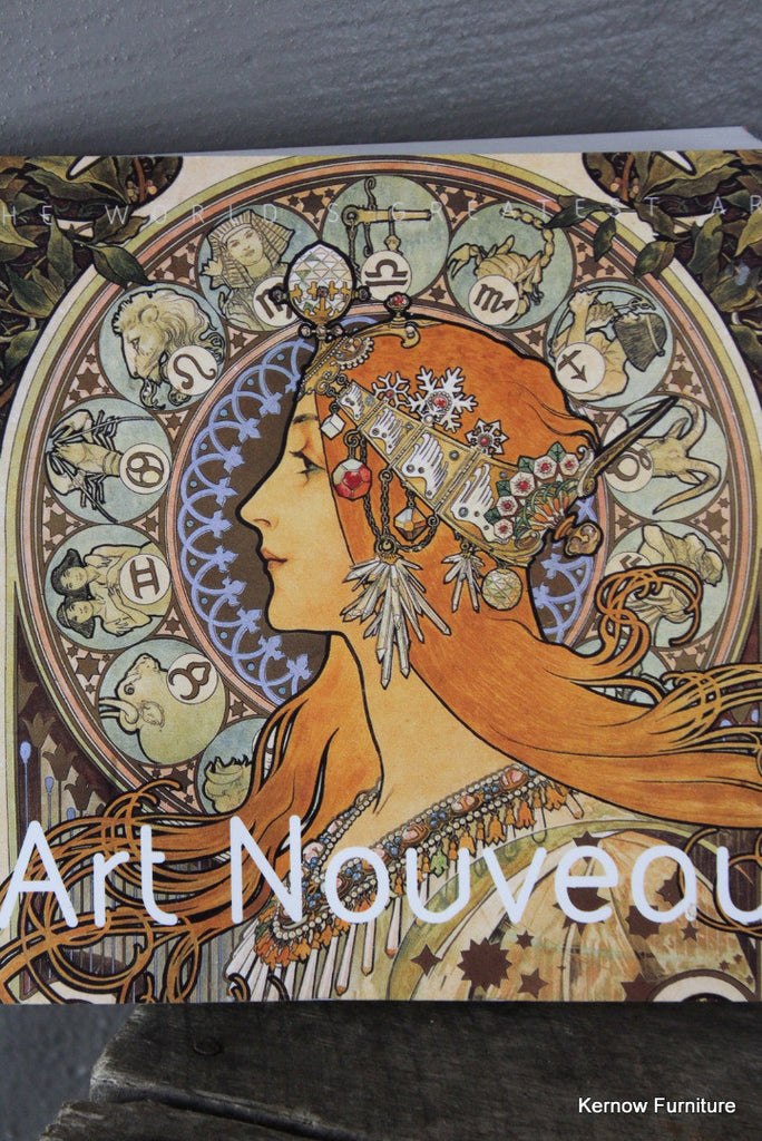 Art Nouveau The Worlds Greatest Art - Kernow Furniture