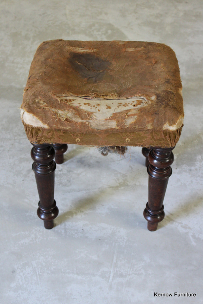 Victorian Mahogany Piano Stool - Kernow Furniture