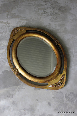French Oval Wall Mirror