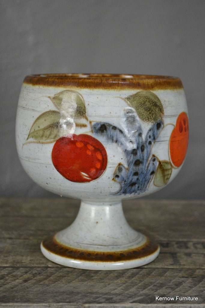 Schramberg Handgemalt Mandarin Stemmed Bowl - Kernow Furniture 100s vintage, retro & antique items in stock