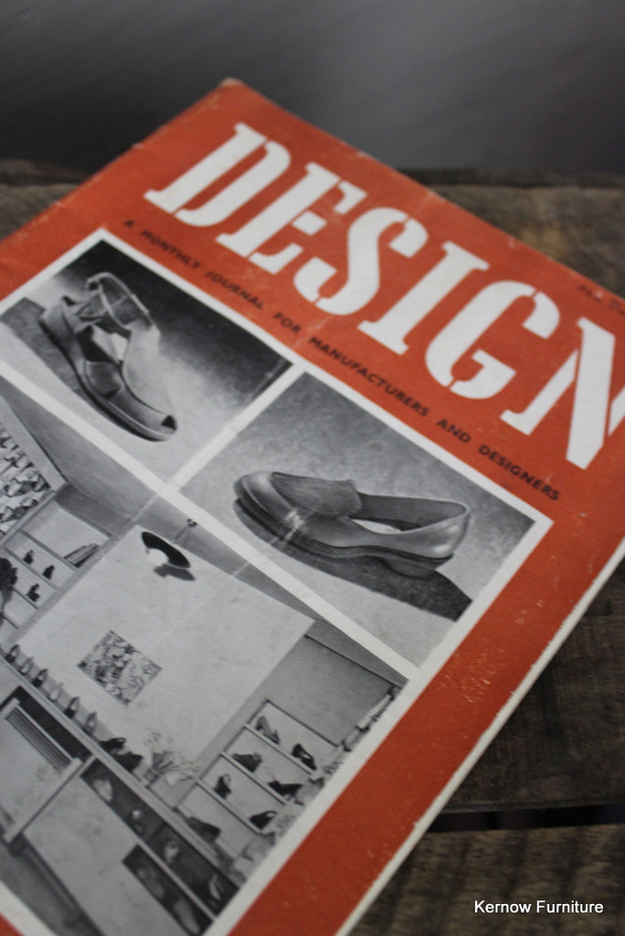 Design Magazine No 6 1949