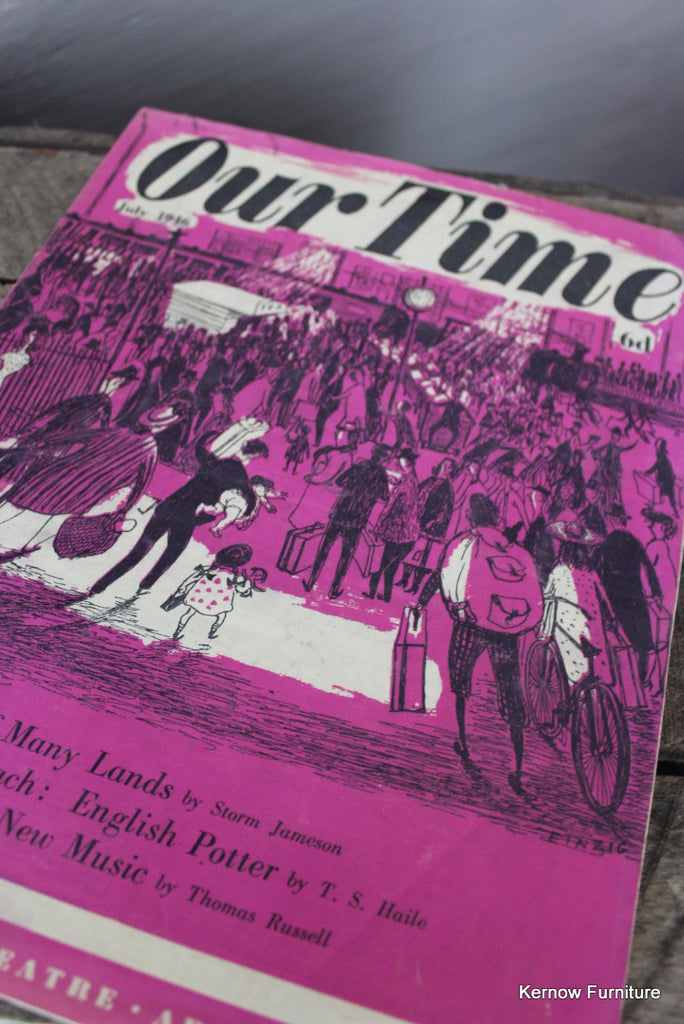 Our Time Magazine July 1946 - Kernow Furniture
