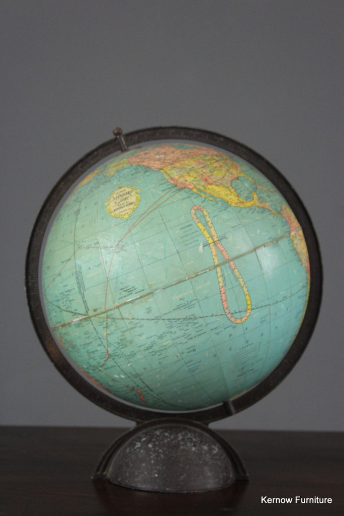 12'' Replogle Globe - vintage retro and antique furniture
