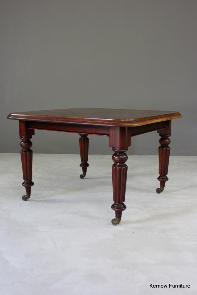 Victorian Mahogany Square Dining Table