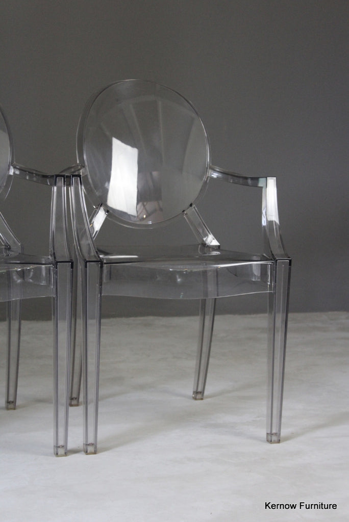 4 Kartell Ghost Chairs - Kernow Furniture
