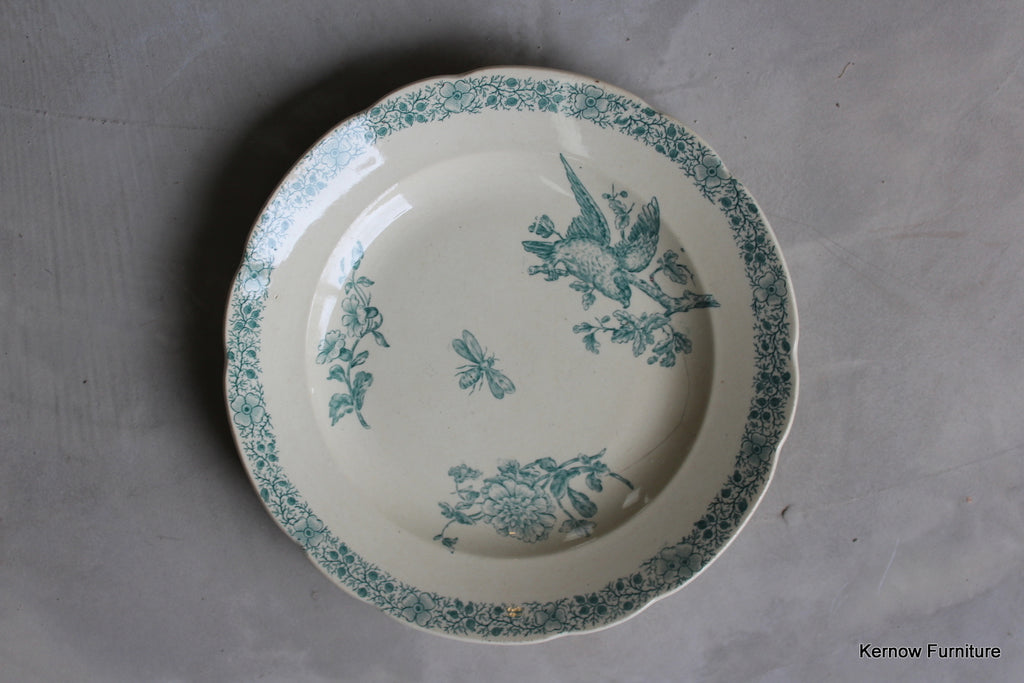 Antique French Plate - vintage retro and antique furniture