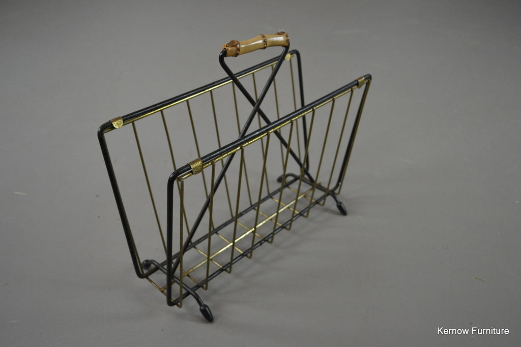 Retro Magazine Rack - Kernow Furniture 100s vintage, retro & antique items in stock