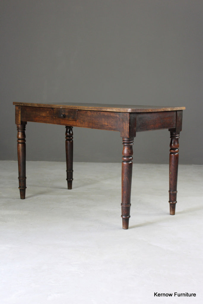 Antique Mahogany Side Table - vintage retro and antique furniture