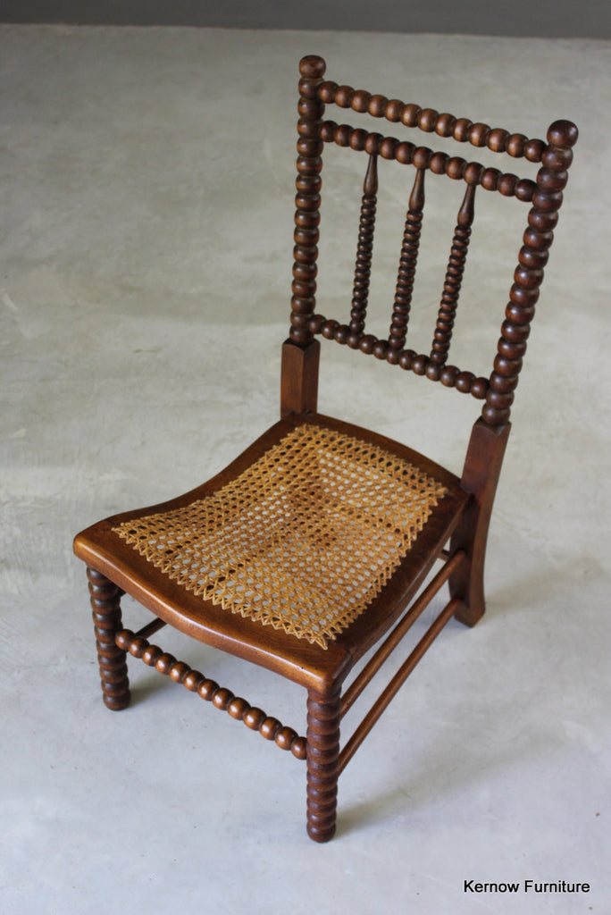 Bobbin Occasional Chair - vintage retro and antique furniture