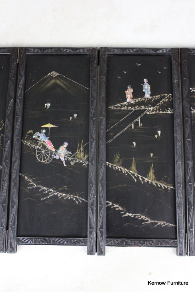 Japanese Folding Screen - Kernow Furniture