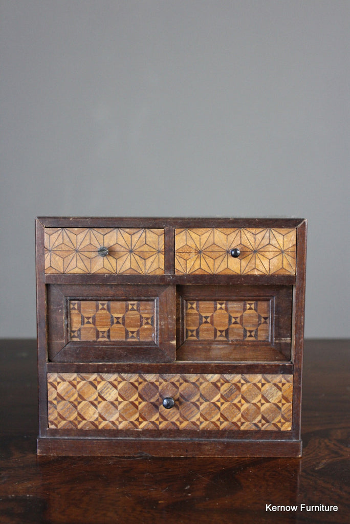 Japanese Marquetry Jewellery Box