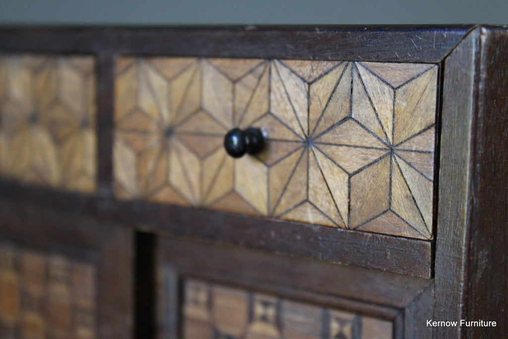 Japanese Marquetry Jewellery Box - Kernow Furniture