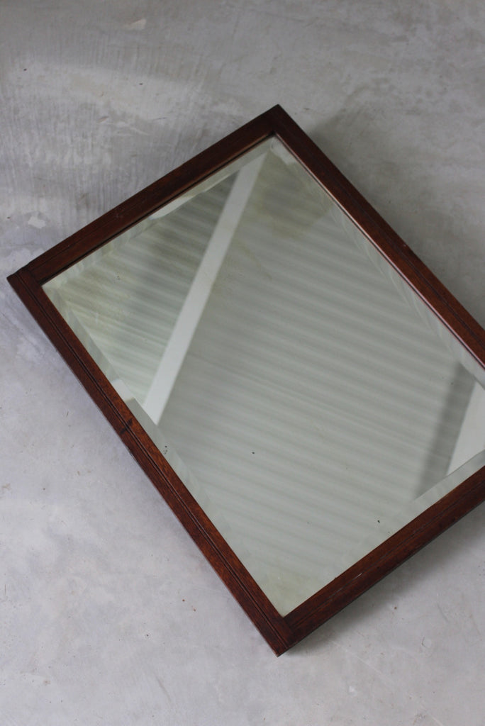 Mahogany Wall Mirror - Kernow Furniture