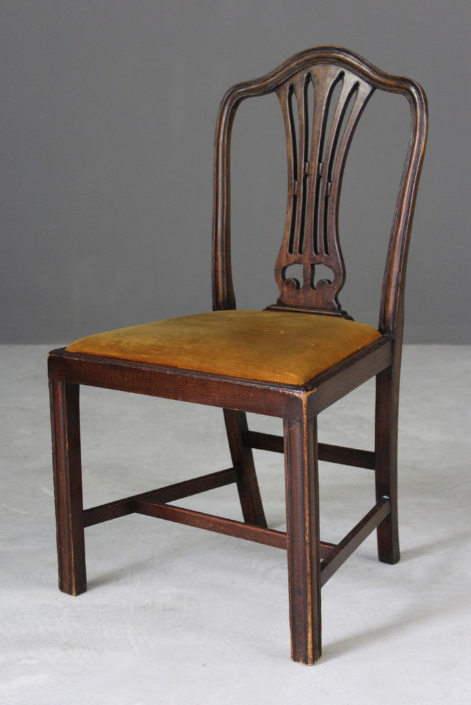 Single Georgian Style Dining Chair
