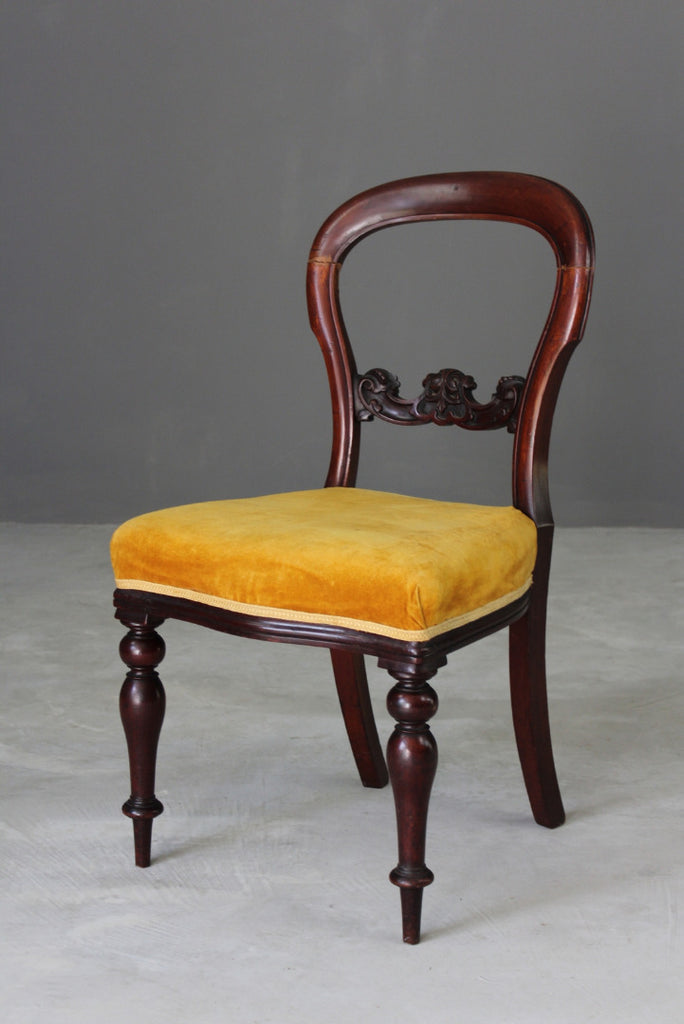 Victorian Balloon Back Dining Chair - Kernow Furniture