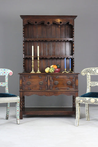 Early 20th Century Dark Oak Dresser