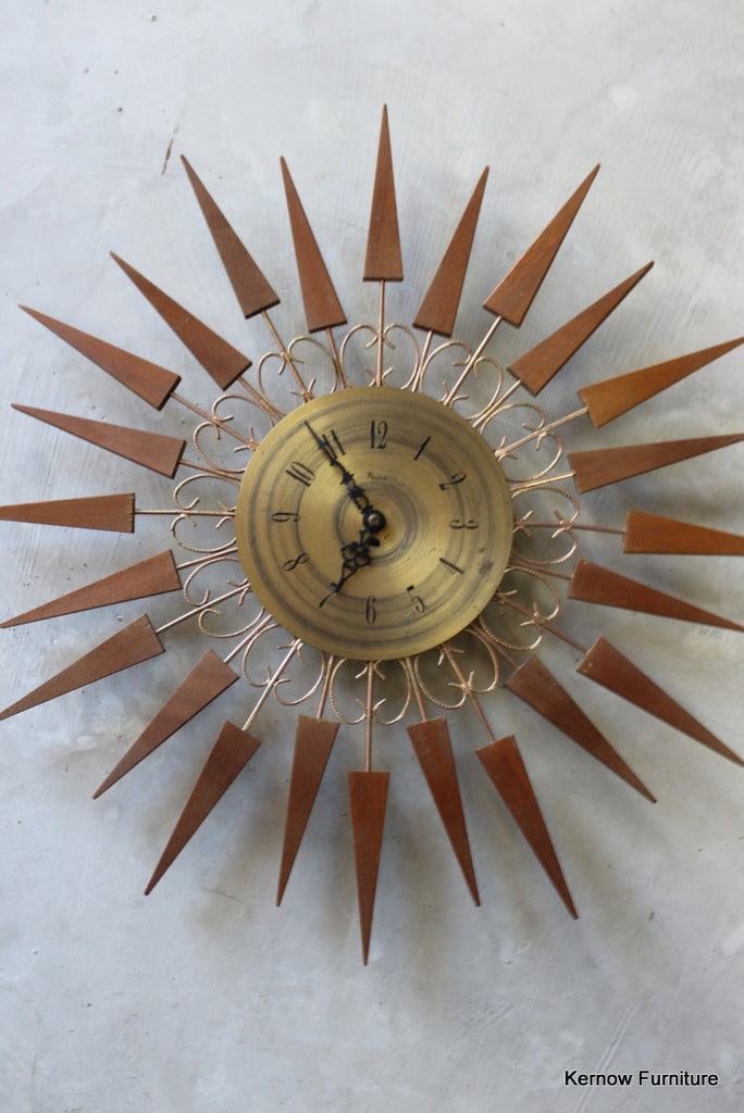 Paico Sunburst Clock