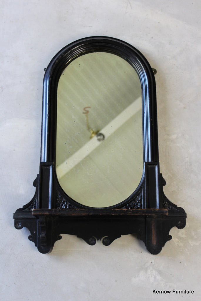 Victorian Ebonised Mirror