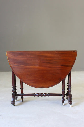 Antique Mahogany Sutherland Table