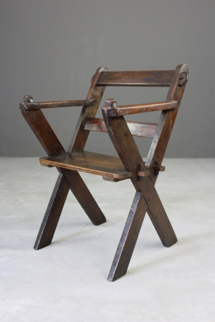 Rustic Glastonbury Chair - Kernow Furniture