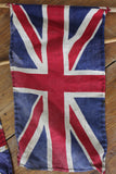 Pair Vintage Union Jacks