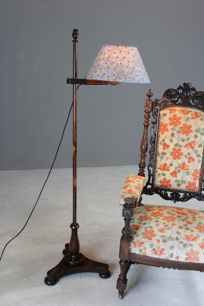 Rosewood Reading Lamp