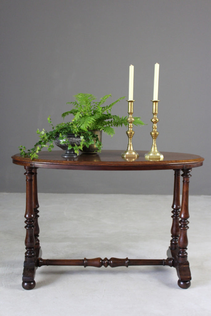 Victorian Oval Occasional Table - Kernow Furniture