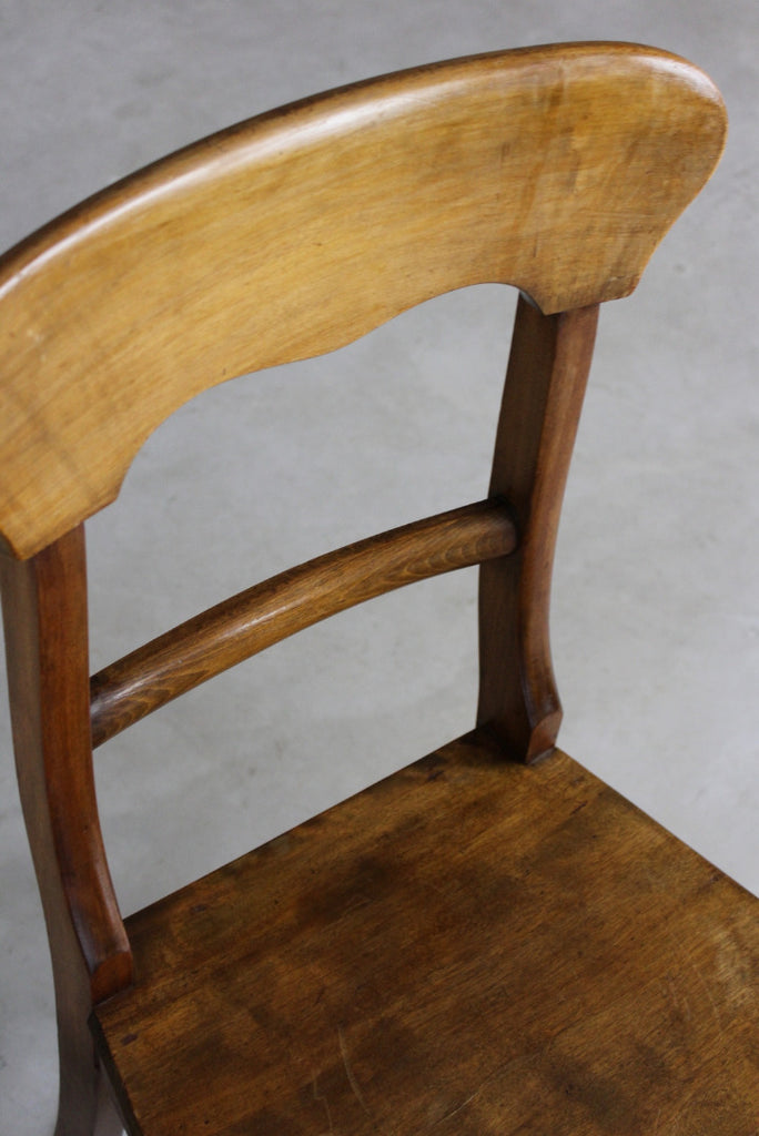 Pair Victorian Kitchen Chairs - Kernow Furniture