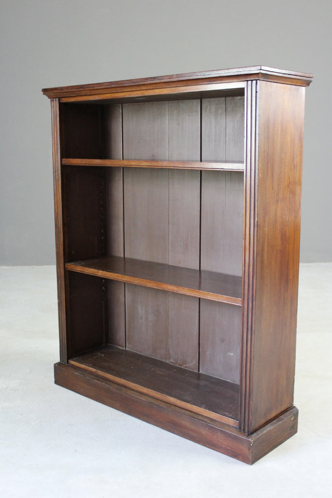 Mahogany Freestanding Bookcase - Kernow Furniture