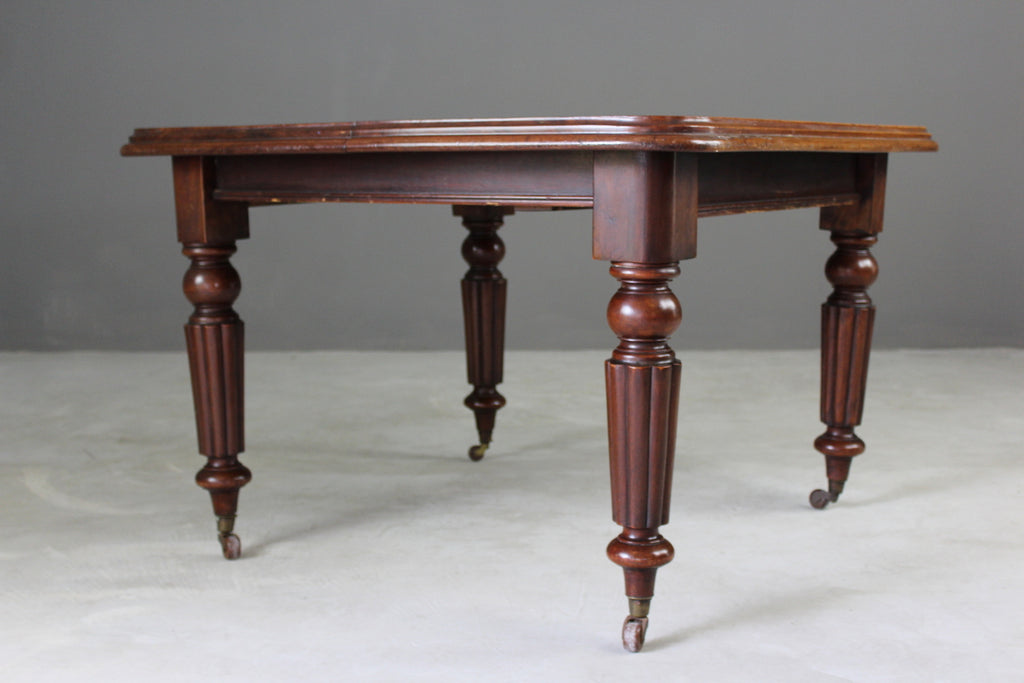 Victorian Mahogany Dining Table - Kernow Furniture