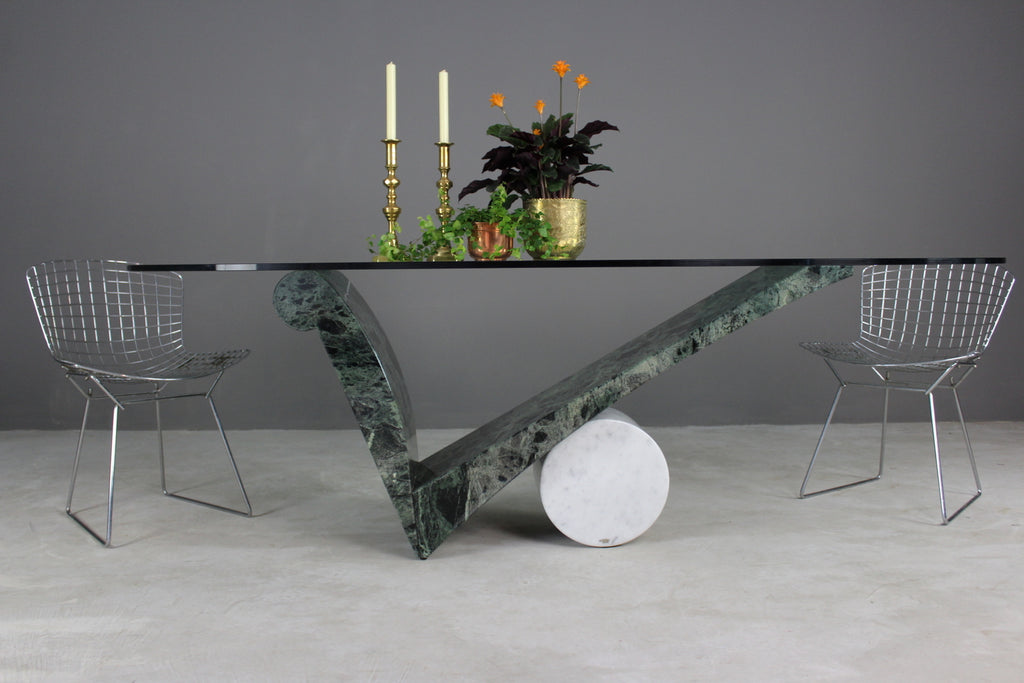 Cattelan Italia Marble Oval Dining Table